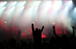 Rock on gesture