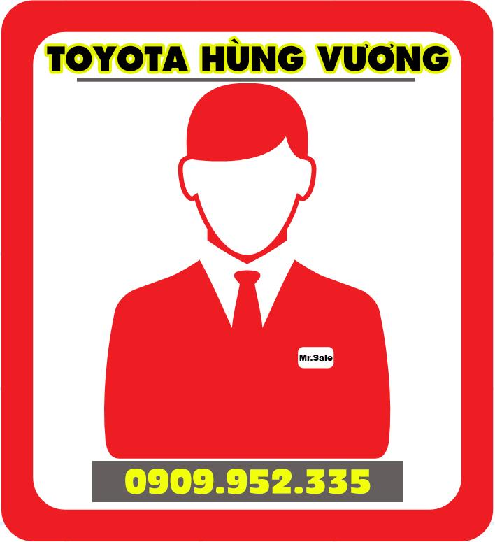 Liên hệ gặp nhân viên Toyota Hùng Vương