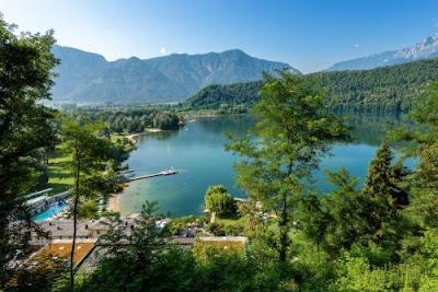 Lago di Levico Terme - Laghi belli Trento - gite e vacanze in Trentino