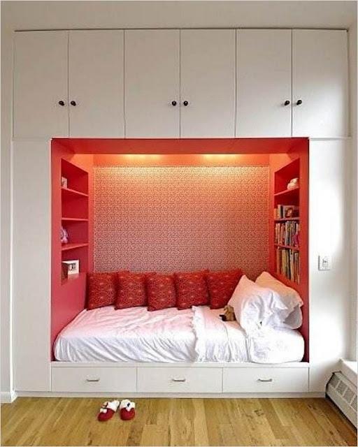 √√ Small BEDROOM Storage Ideas | Home Interior Exterior Decor & Design Ideas