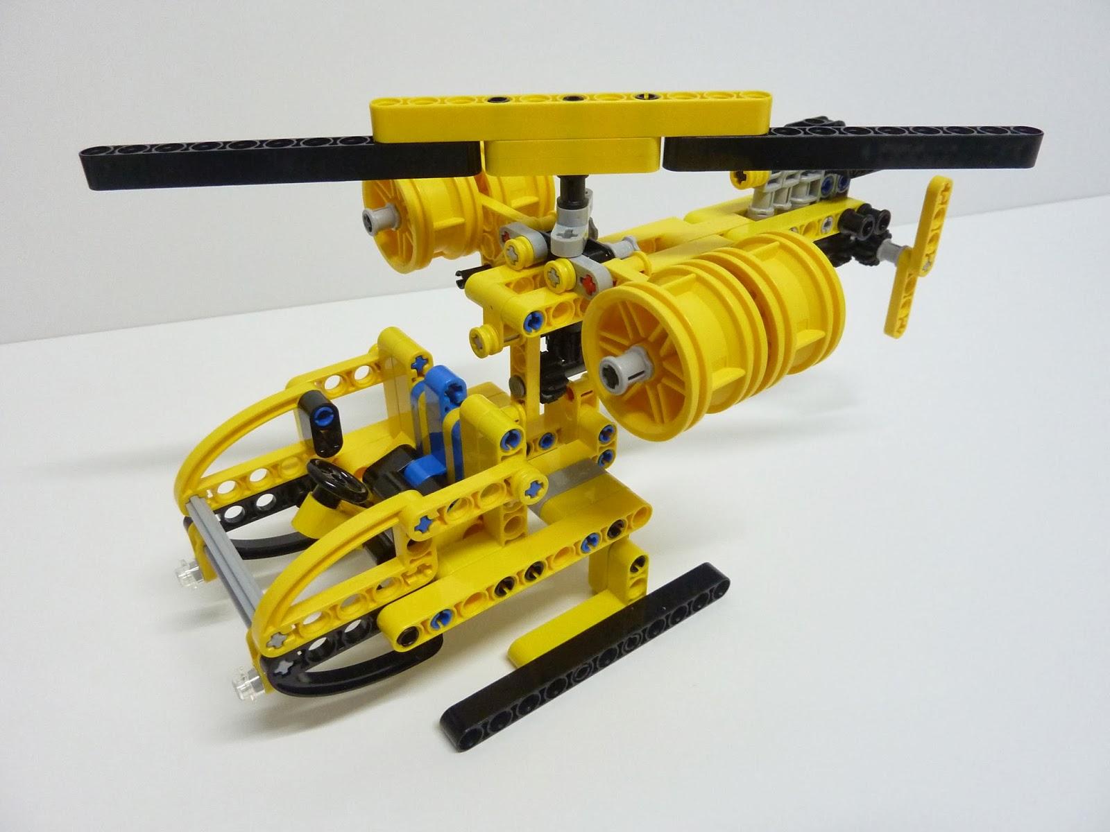 Brick Wink: REVIEW - Alternate Build: MOC 42004 - 001