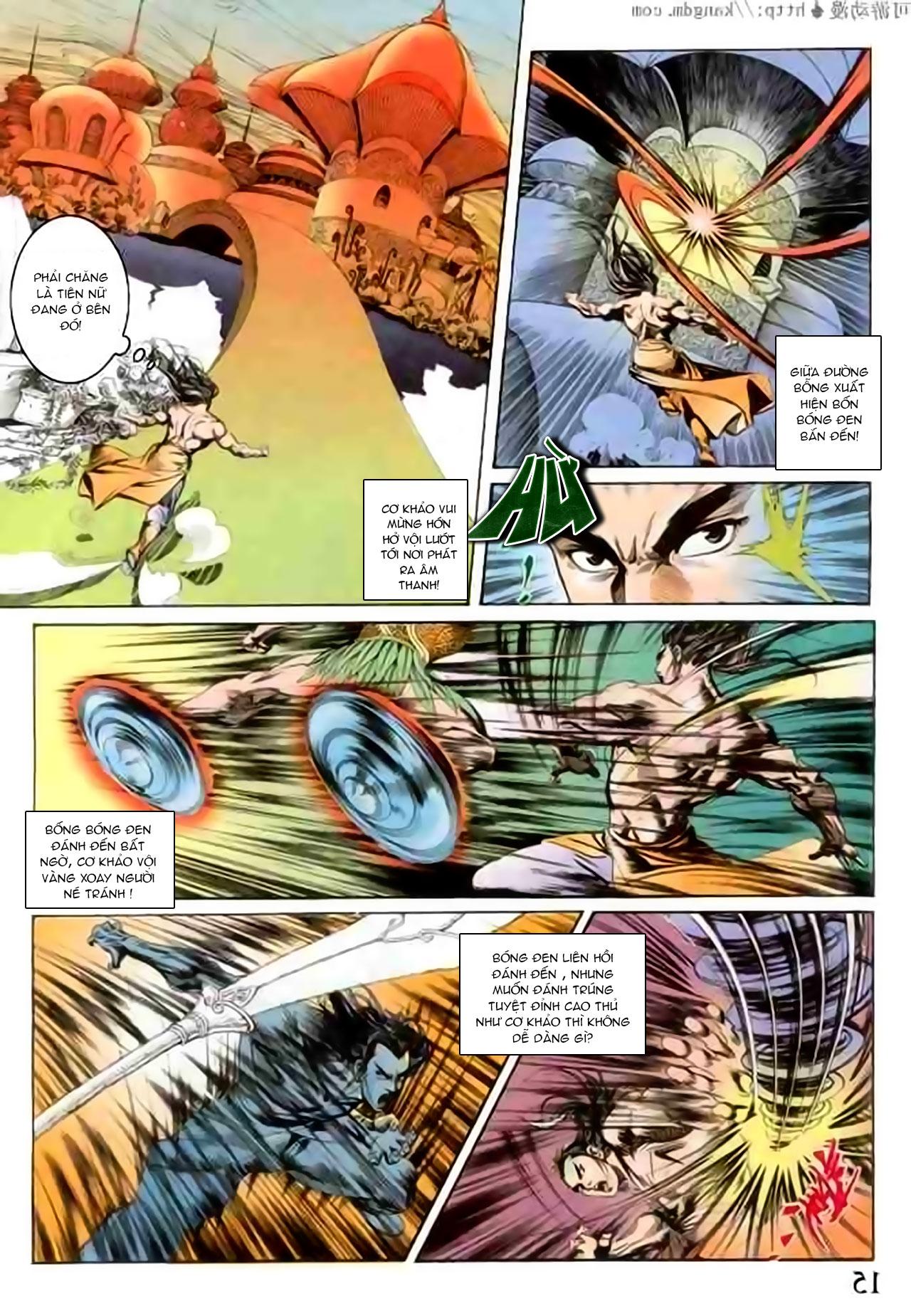 Cơ Phát Khai Chu Bản chapter 103 trang 15
