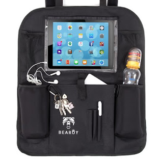 Bearoy Car Back Seat Organizer with Tablet Holder