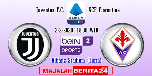 Prediksi Juventus vs Fiorentina — 2 Februari 2020