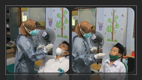 Puskesmas Tambakaji Melapor Screening Swab Test Antigen MIMA