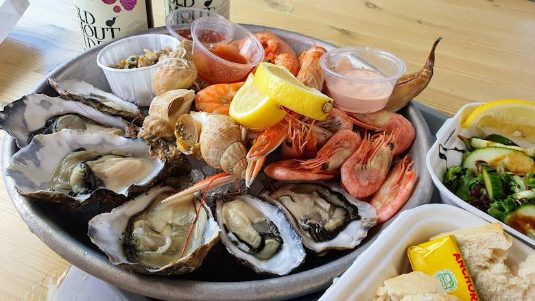 中午的海鮮套餐
