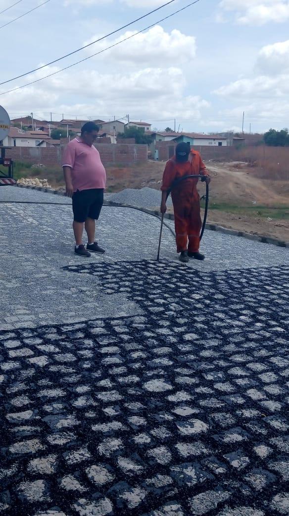 Resultado de imagem para Ruas de Marcelino Vieira, prefeito Babau