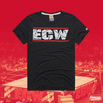 ECW Logo T-Shirt by HOMAGE x WWE