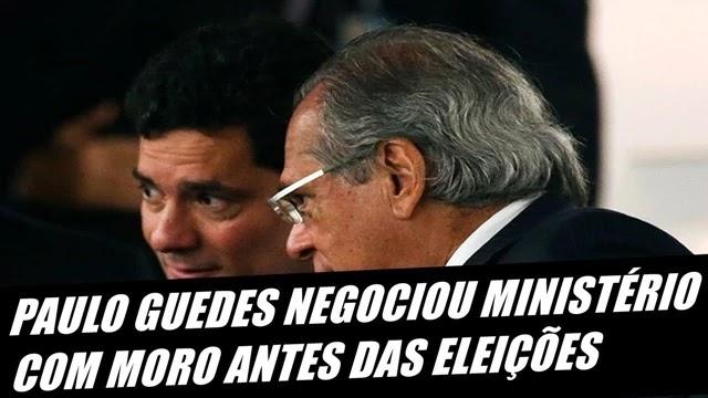 ex-ministro Gustavo Bebianno revela que Sergio Moro tratou de sua ida para o governo Bolsonaro antes do resultado das eleições de 2018