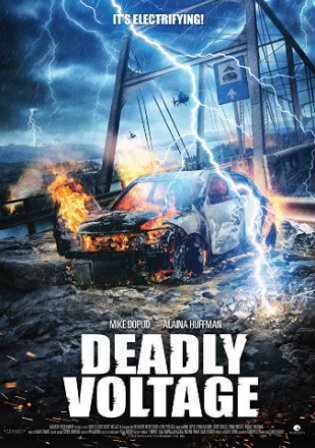 Deadly Voltage 2015 BluRay 750MB Hindi Dual Audio 720p