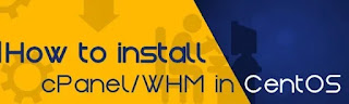 Install cPanel/WHM on CentOS 8