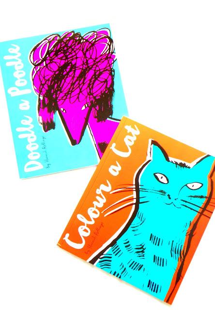 Doodle a Poodle - Adult Colouring Books