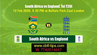 Who will win Today 1st T20 match SA vs Eng