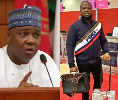Bukola Saraki distances himself from Hushpuppi Fraud