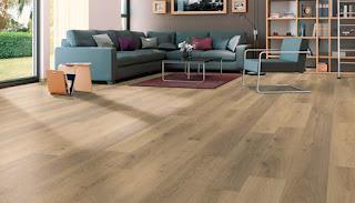 Flooring of living room