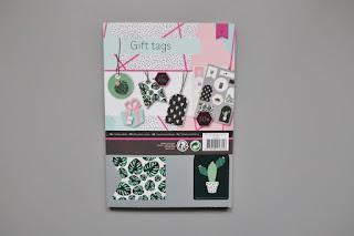 zakupy z action gift tag etykiety prezentowe
