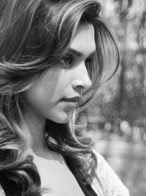 Deepika Padukone latest bold Black & White photoshoot for Axis Bank