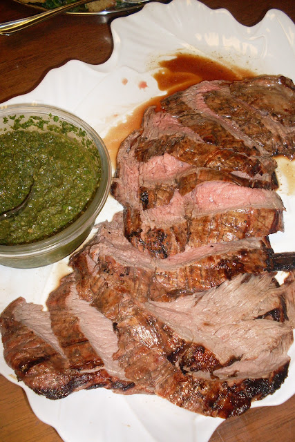Chimichurri Sauce, use with grilled meats, perfection!