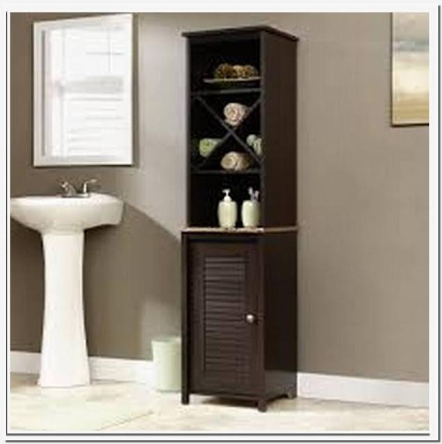 linen storage cabinet for bathroom