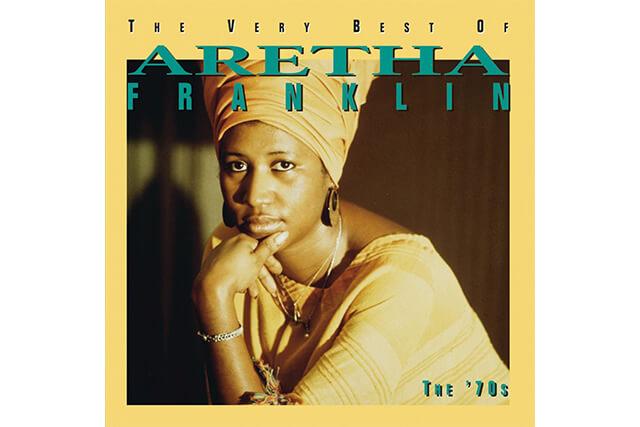 capa do disco o melhor de aretha franklin