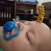 Lomba Foto Menyusun Sereal Pada Wajah Bayi Sedang Tidur, Ada Saja Sekarang Ya
