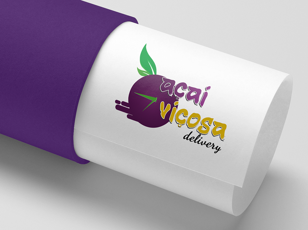 Logotipo Top Açai Delivery