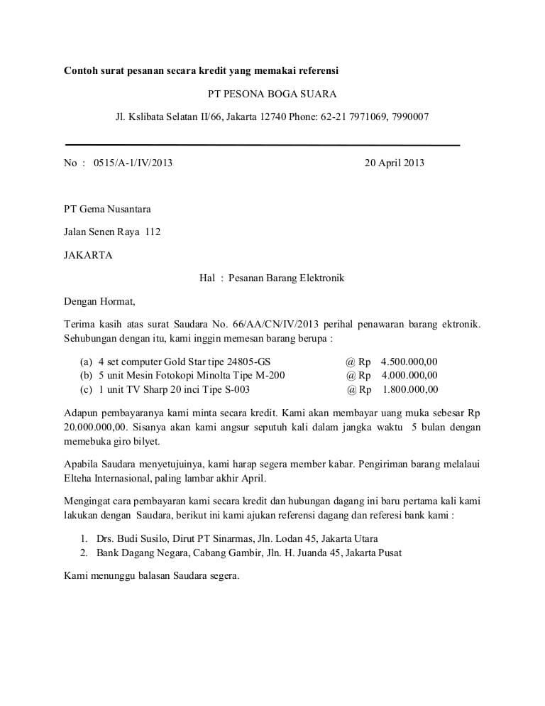 Contoh Surat Lamaran Full Block Style Tulisanviral Info