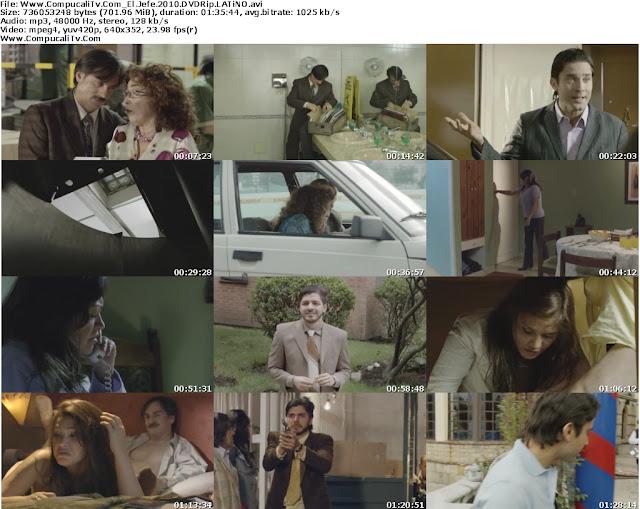 El Jefe (2010) DVDRip Español Latino