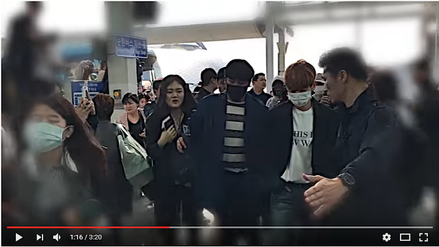 170424 CBC뉴스 Youtube update with EXO at Incheon Airport