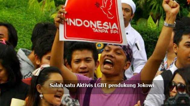 Aktivis LGBT: 20 Juta LGBT di Indonesia Dukung Jokowi, Ada Tokoh Agama yang jadi LGBT