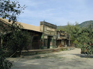 Historic photo of Western Town Paramount Ranch in 2006.