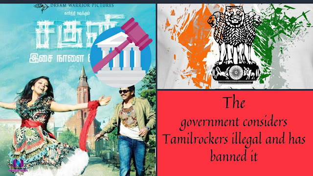 The Government takes action against this Tamilrockers website
