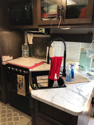 trailer kitchen organization