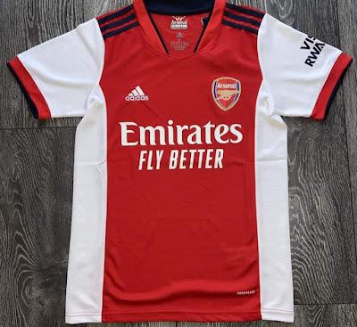 Gambar dan Harga Jersi Baru Arsenal 2021/2022