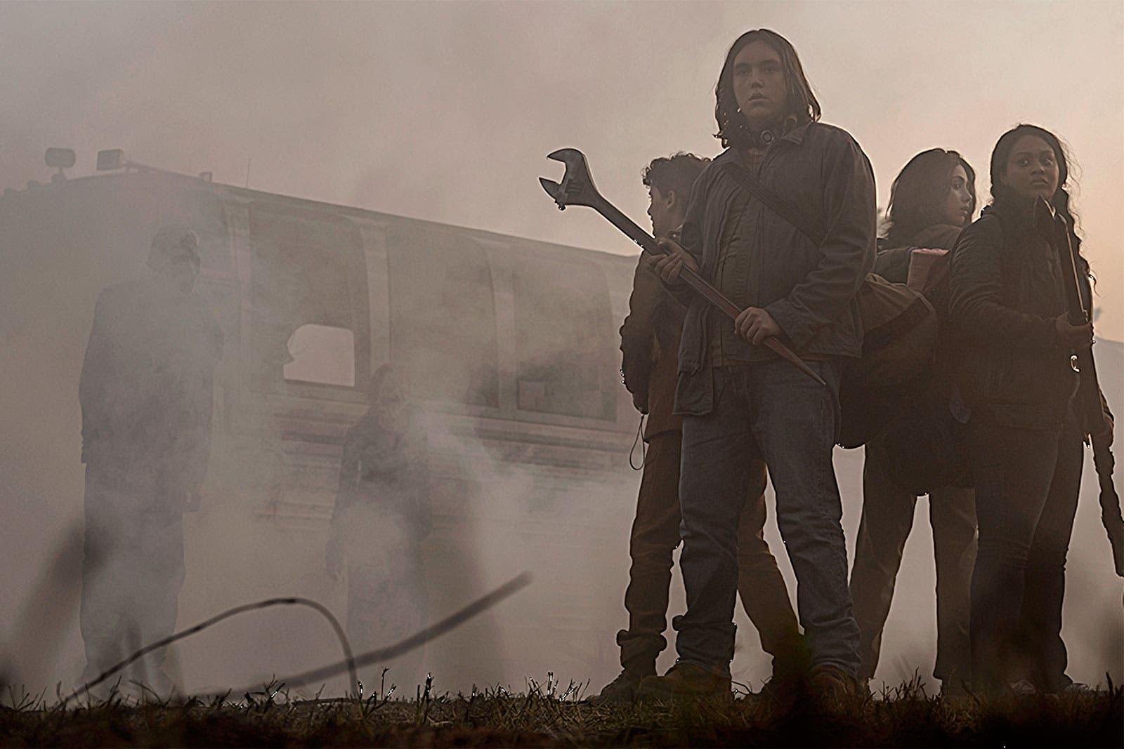 El grupo liderado por Iris y Hope se adentran en The Blaze of Gory