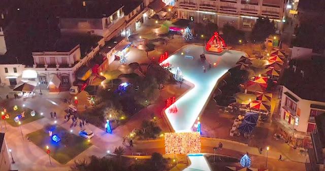 Χριστούγεννα στη Μαγική Πλατεία του Αργους !!! (βίντεο drone)