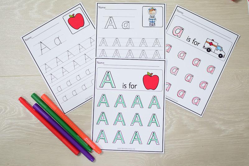 Alphabet Curriculum: Letter Formation
