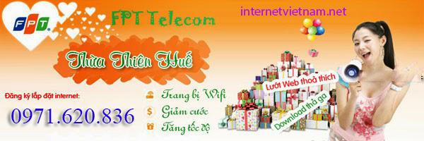 Đăng Ký Internet FPT Phường Phú Thuận, TP Huế