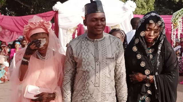 Nigerian man marries two girlfriends on same day