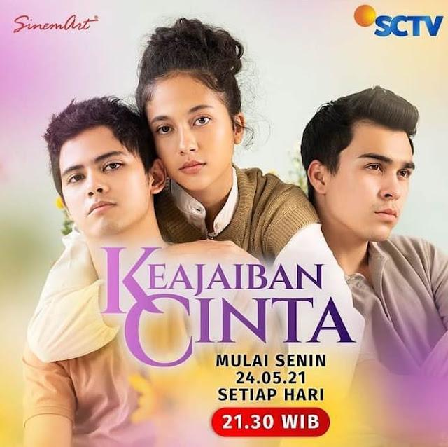 Daftar Nama Dan Biodata Pemain Sinetron Keajaiban Cinta SCTV 2021 Lengkap