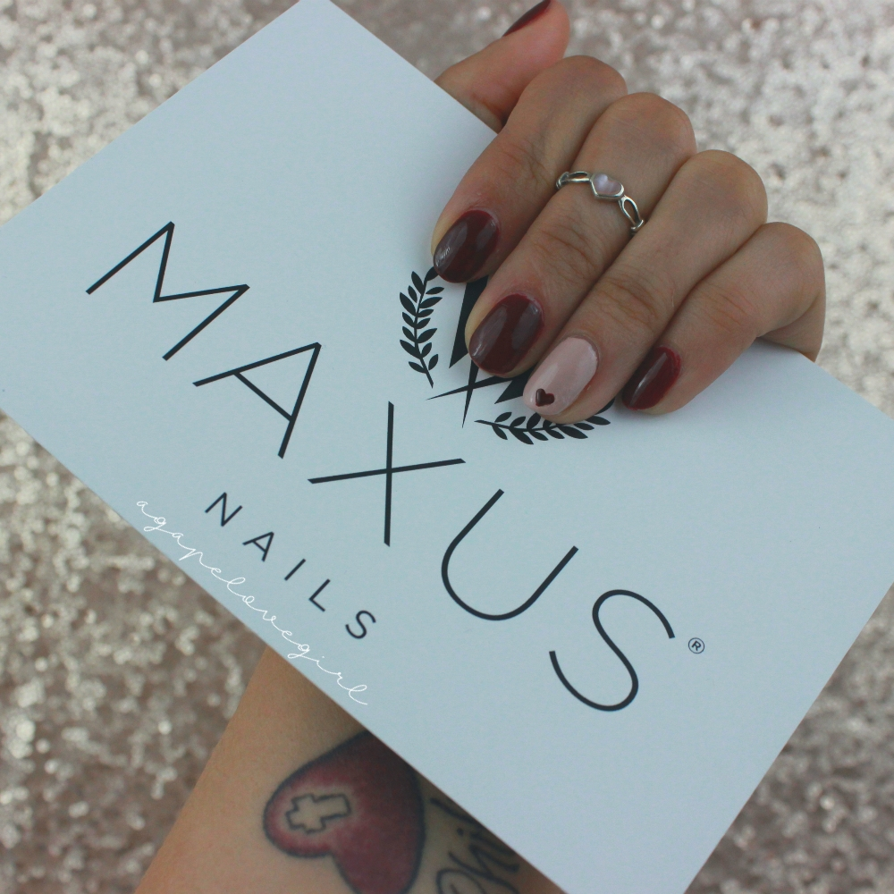 Agape Love Designs: Maxus Nails | Strengthening Treatment Nail Line