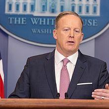 Presidential spokesman Sean Spicer
