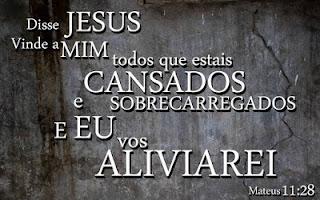 versículo vinde a mim todos que estais cansados e oprimidos estudo