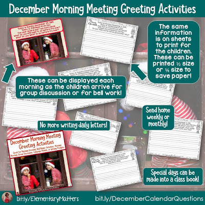 https://www.teacherspayteachers.com/Product/December-Morning-Meeting-Greeting-Activities-4209427?utm_source=holiday%20magic%20blog%20post&utm_campaign=december%20calendar%20questions