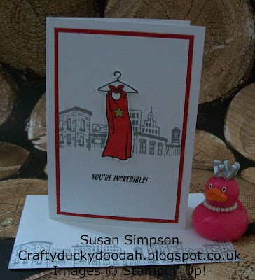 Stampin' Up! UK Independent Demonstrator Susan Simpson, Craftyduckydoodah!, Everyday Hero, Supplies available 24/7,