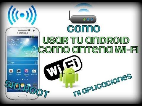 Android: SmartPhone como antena wifi para Pc