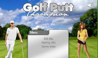 Game thú vị người đẹp chơi golf
