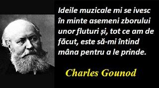 Citatul zilei: 17 iunie - Charles Gounod