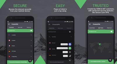 5 Aplikasi VPN Gratis Terbaik Untuk Android (Juni 2019) - ProtonVPN
