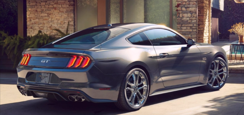 2018 ford mustang interior exterior design promotional